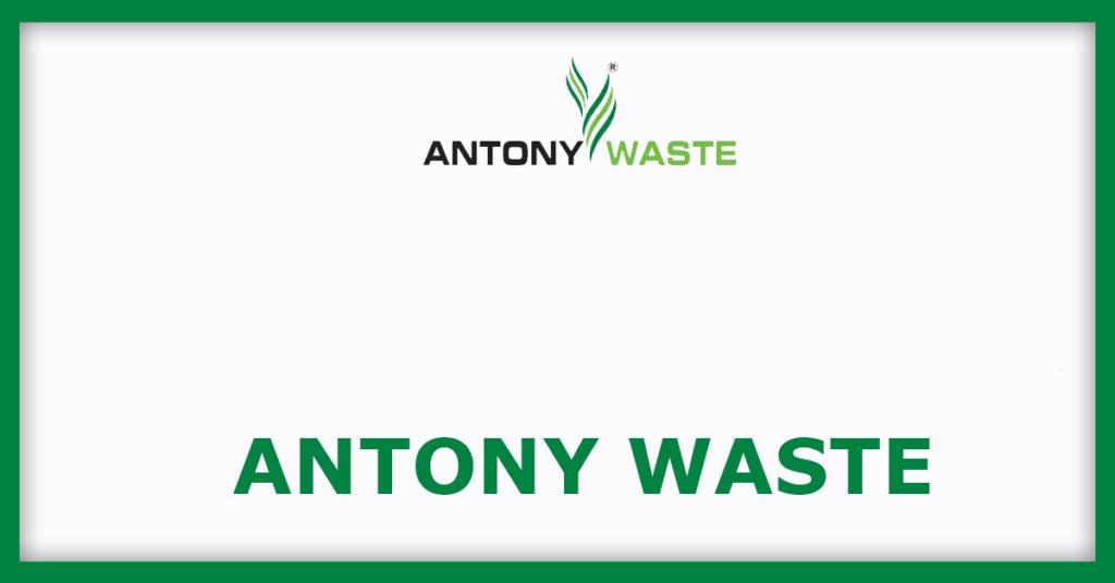 AntonyWaste IPO
