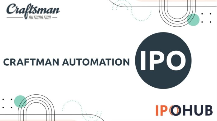 Craftman Automation IPO