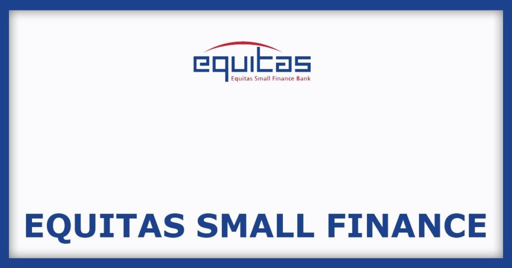 Equitas Small Finance IPO