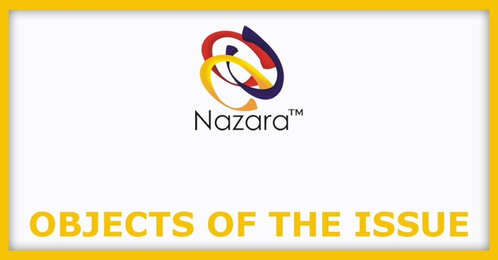 Nazara Technologies IPO Object Of The Issue