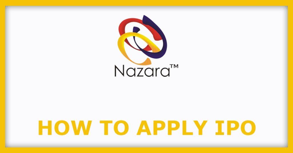 Nazara Technologies IPO How To Apply IPO