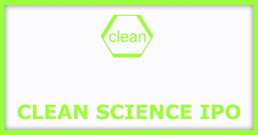 Clean Science IPO 2021