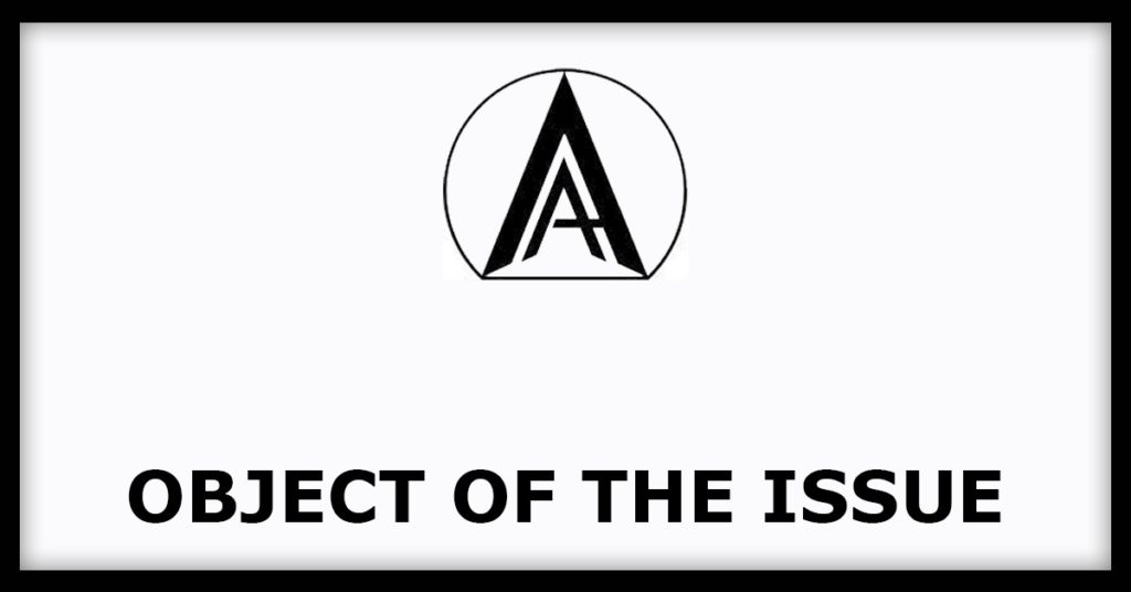Object Of The Issue