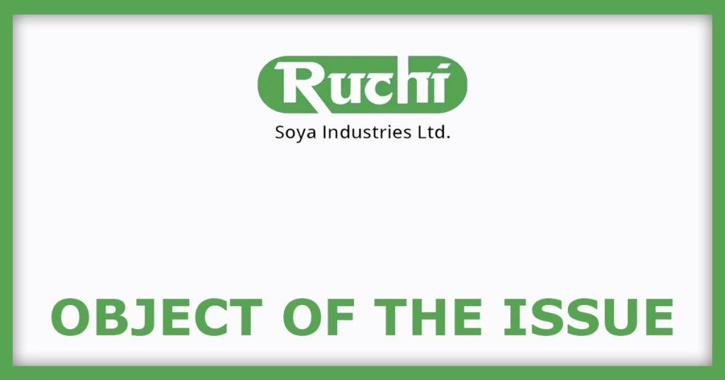 Ruchi Soya FPO Object Of The Issue