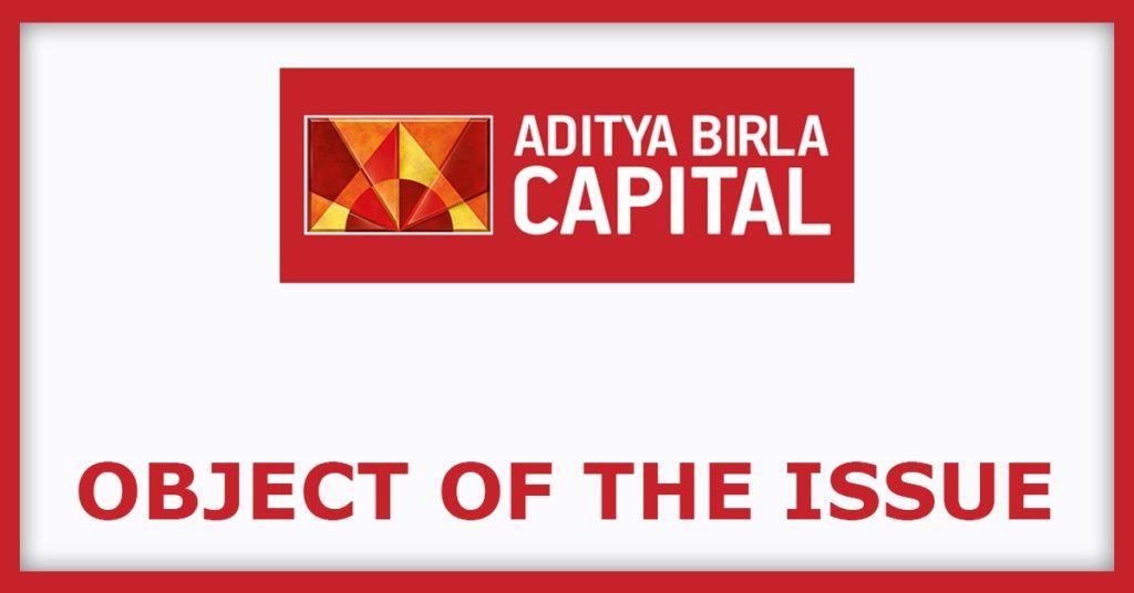 Aditya Birla Sun Life AMC IPO Object Of The Issue
