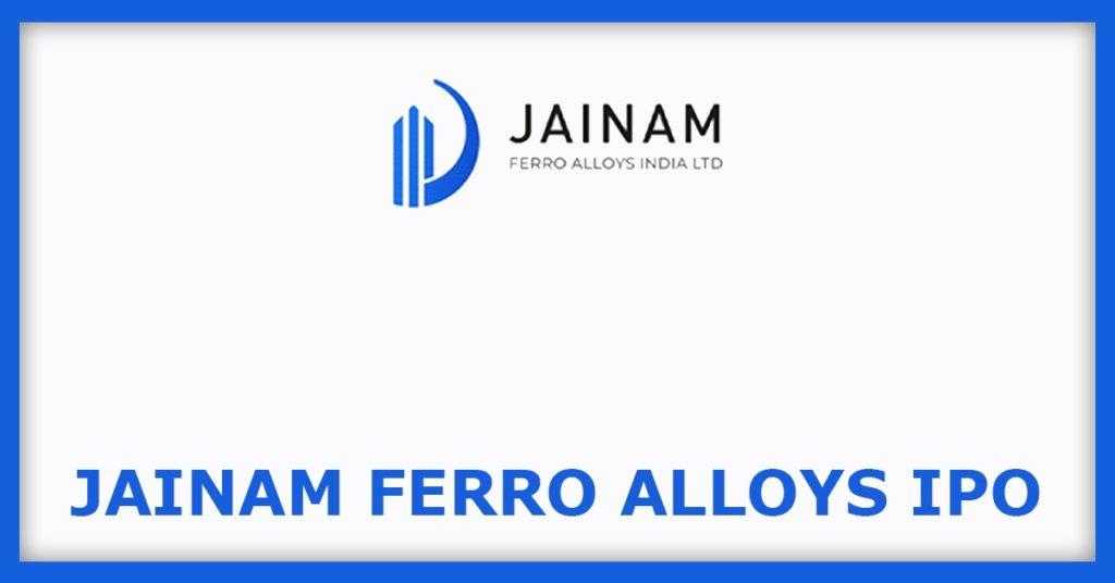 Jainam Ferro Alloys IPO