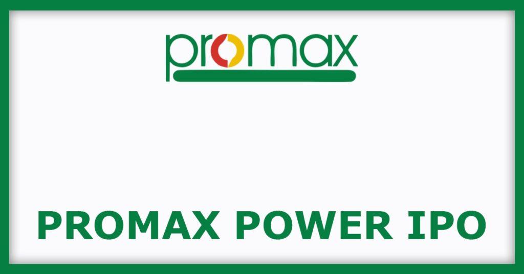 Promax Power IPO