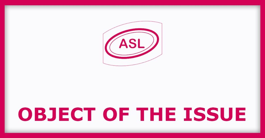 Adishakti Loha and Ispat IPO Object Of The Issue